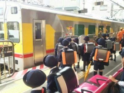 こどもたちと東急TOQ i(トークアイ)【鉄道】